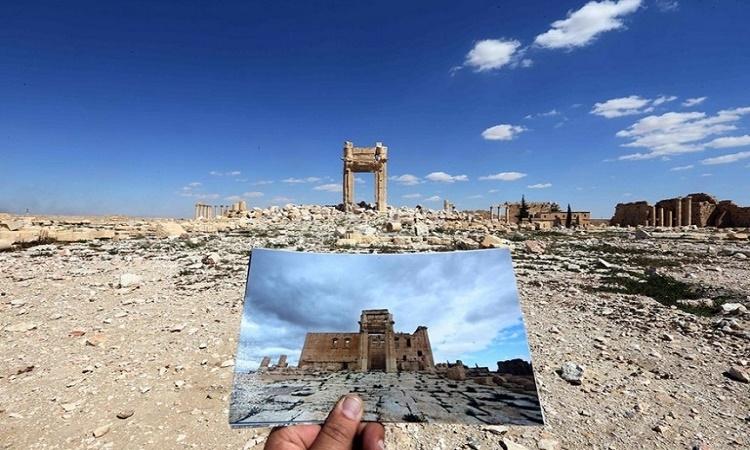Dědictví lidstva zničeno? 12 šokujících fotografií monumentálních syrských památek před a po útocích Islámského státu