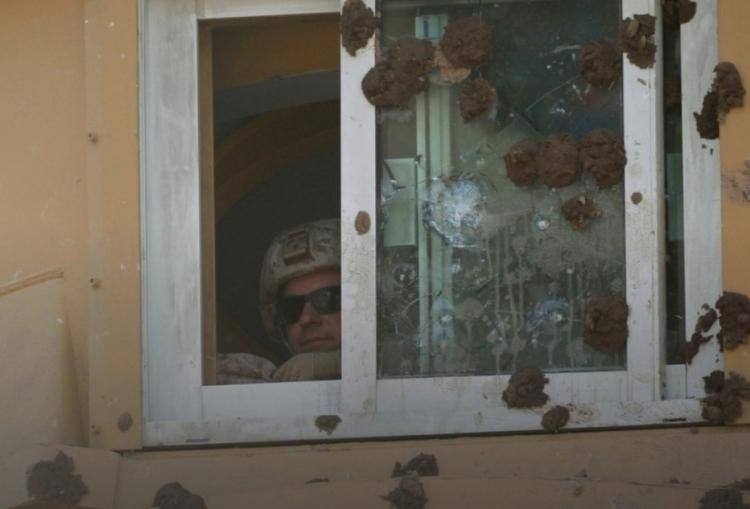 Americké velvyslanectví v Bagdádu zasypáno hromadou hov*n