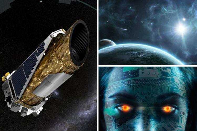 Novým typem dalekohledu lze vidět jakési živé, jiným způsobem neviditelné bytosti