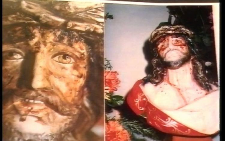 Busta Ježíše Krisa, která krvácí a pláče. Vědci do teď neumí vysvětlit tento zvláštní jev...