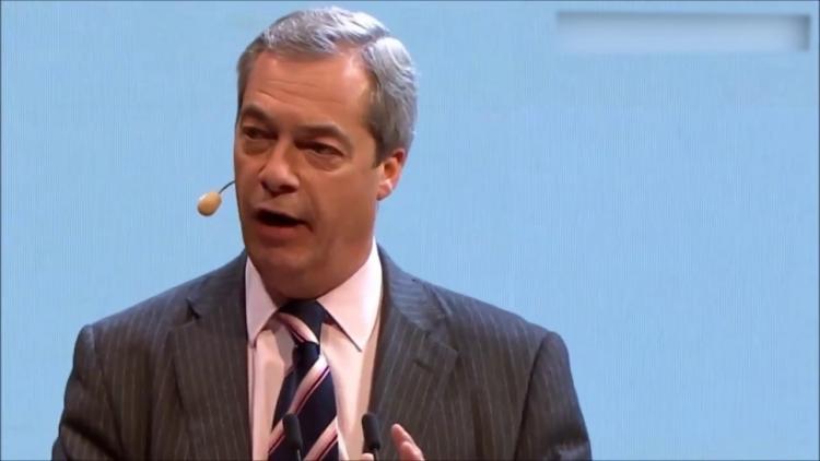 Nigel Farage to natřel mainstreamovým médiím na jejich vlastní konferenci