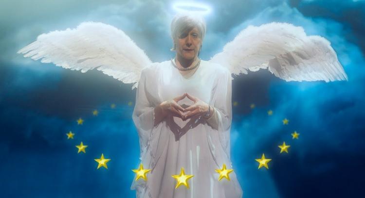 Celý internet válcuje komické video s Angelou Merkelovou