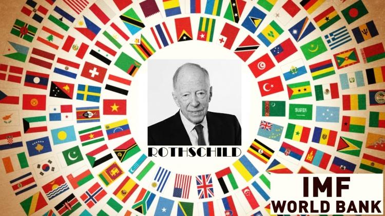Pouhé tři země již zůstaly bez Rothschildy vlastněné Centrální banky!