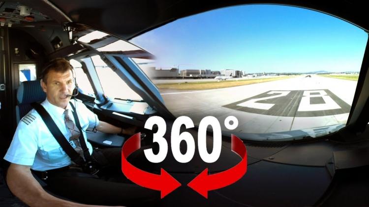 Dech beroucí let nad Švýcarskem ve 360° videu, které vy sami ovládáte