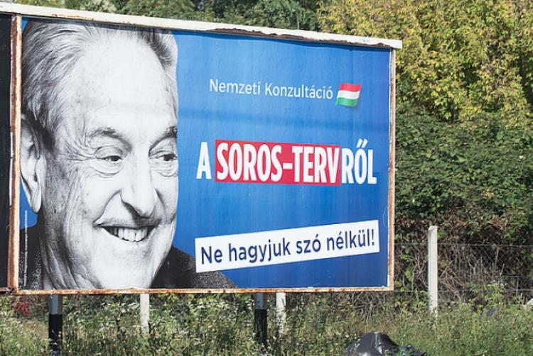 Maďarská vláda má zájem odhalit Sorosovu síť vyvíjí v tom další aktivity...
