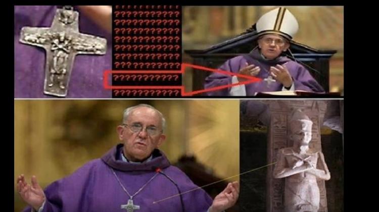 Je papež František opravdu křesťan? Co nosí na krku a proč?