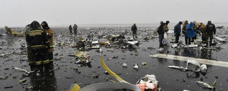 Havárie letu FlyDubai v Rusku byl záměrný čin? Důkazy ve videu - nalezeny fragmenty americké střely