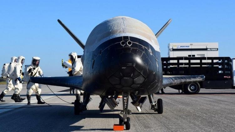 SpaceX pro Pentagon vypustilo tajnou loď