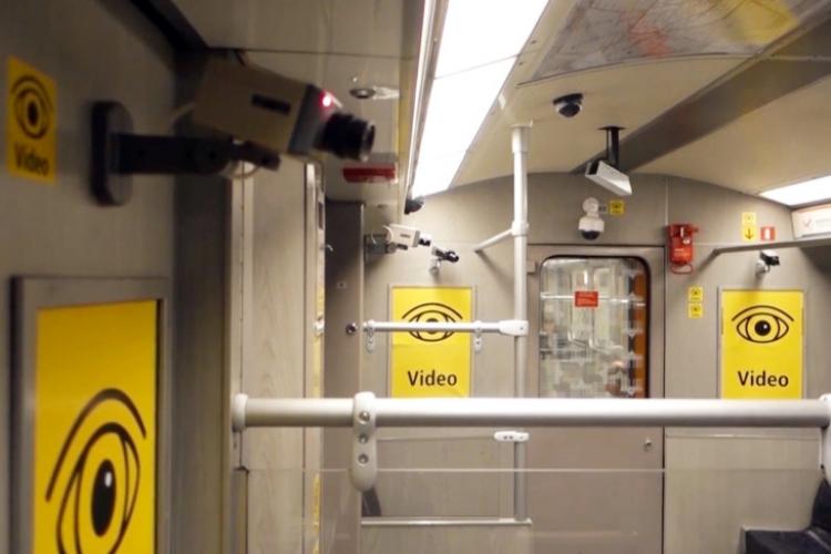 Co se stane, když vagon metra sleduje 32 videokamer? Alarmující experiment k zamyšlení...