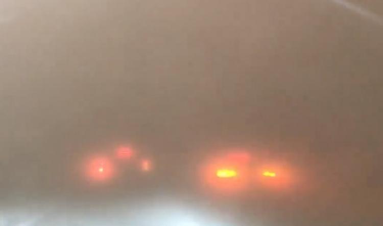 Bude takhle vypadat konec světa? Šokující video z dálnice v Srbsku