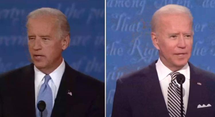 Pravý a falešný Biden. Ve videu poznáte rozdíl