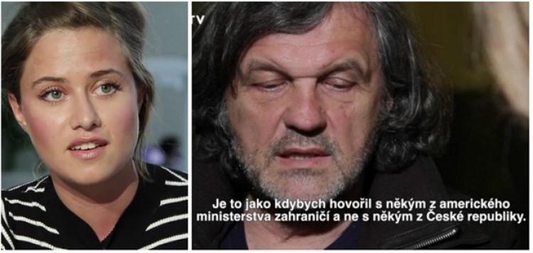 To se nepovedlo. Známý režisér Kusturica se pustil do české redaktorky a takhle to dopadlo