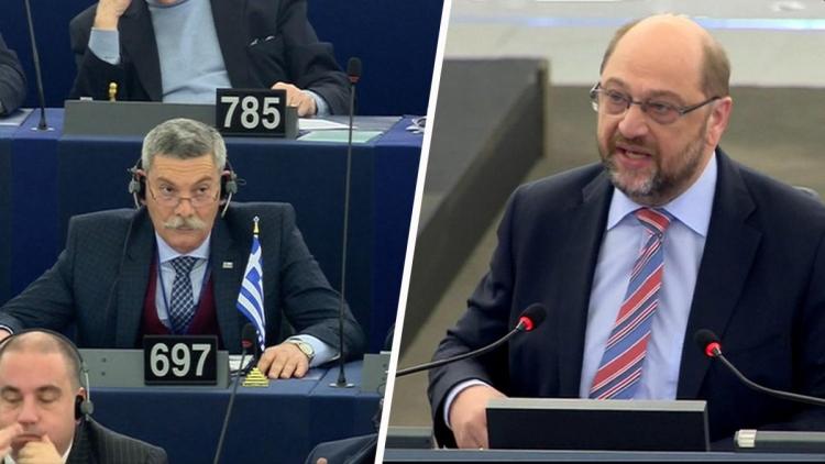 Žádná diskuse, ven ze sálu! Šiřte video, jak Martin Schulz vyhnal europoslance přímo z parlamentu