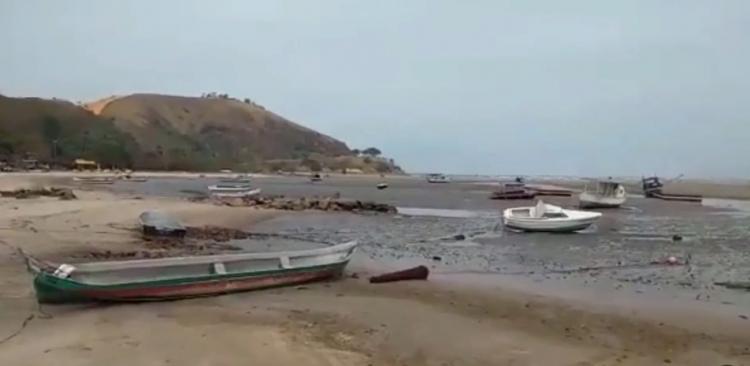 Na plážích v Brazílii a Uruguaji se děje něco záhadného, oceán mizí z pláží