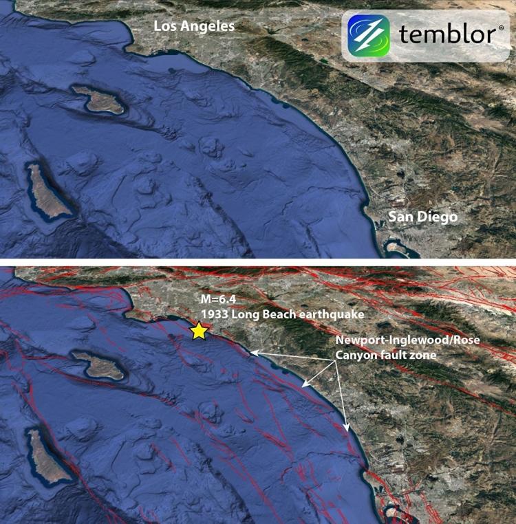 Los Angeles může zasáhnout silné podmořské zemětřesení, jaké tady ještě nebylo