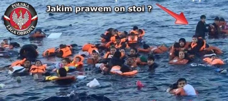 Jak nám média lžou? Naaranžovaná fotka topících se uprchlíků