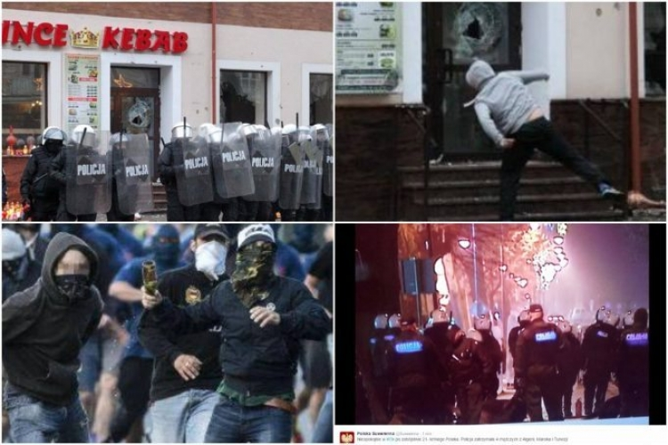 Poláci zuří poté, co údajně imigranti ubodali k smrti mladého muže. Takto dopadl jejich podnik