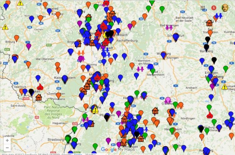 Nekorektní mapa: Jak vypadá zločinnost imigrantů v Německu? Je to neveselý pohled...
