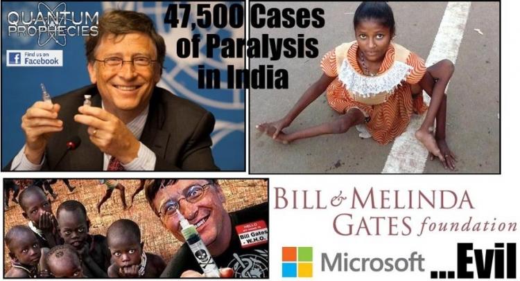 Další šílený kousek Billa Gatese: 30 tisíc indických dívek použitých jako morčata pro testování vakcíny proti rakovině