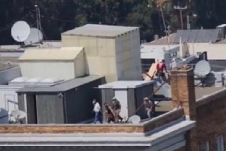 Rusko: Americká bezpečnost na ruském konzulátu jako lupiči!