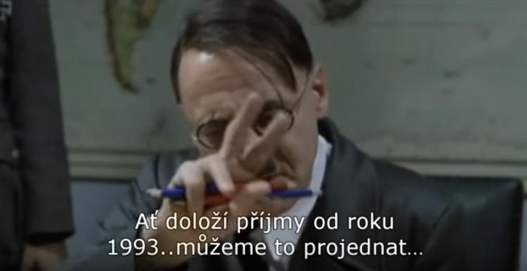 Hitler se dozvěděl, že Babiš tají příjmy. Sorry jako, ale tohle musíte vidět!