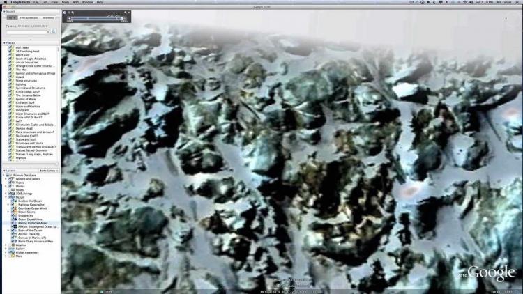 Na Antarktidě nalezeny ruiny starověkého města. USA údajně zakazují zveřejnit video z výpravy ztraceného týmu