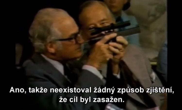 Odtajněná zbraň CIA, která v tělech obětí způsobuje infarkt. Video z roku 1975 jako důkaz...