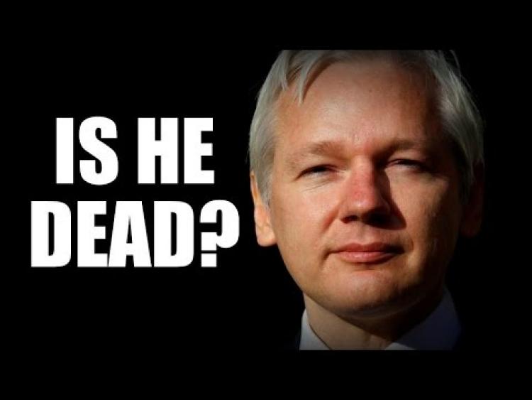 Všichni si myslí, že je Julian Assange odstřižený od internetu. Bezpečnostní expert se domnívá, že je zřejmě mrtvý...