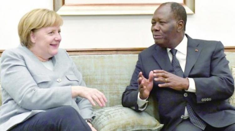Merkelová: Nechme Afričany přijít do Evropy legálně