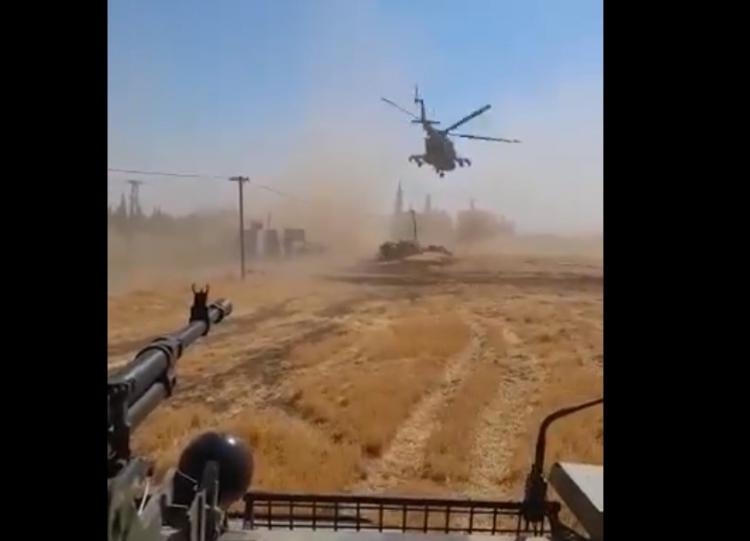 V Sýrii došlo ke střetu amerických a ruských vojáků. Záběry z incidentu
