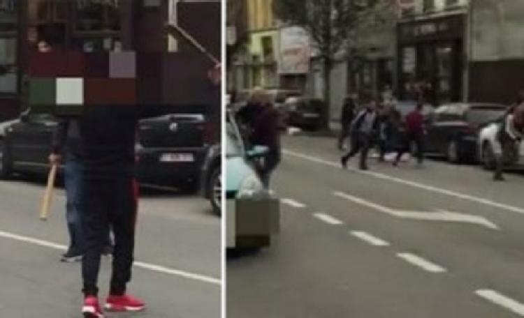 V Bruselu se v sobotu porvalo cca 60-100 lidí, místní proti Romům ze Sýrie