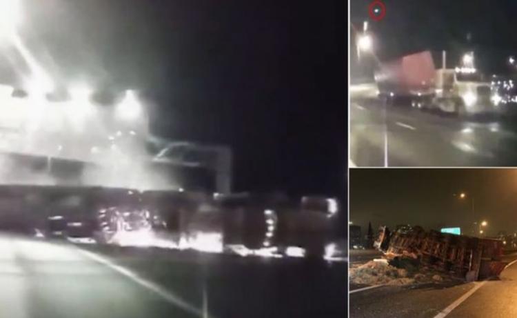 Způsobilo UFO nehodu na dálnici? Vše tomu nasvědčuje a nebylo to poprvé...