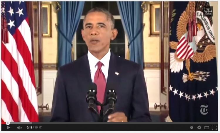 Prezident Obama takto šikovně sám sebe usvědčil ze lži ve videu...