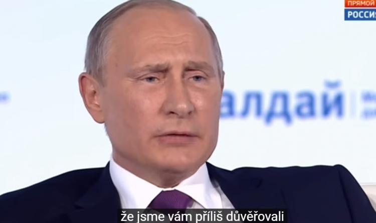 Největší chyba Ruska za poslední roky? Vladimir Putin otevřeně promluvil...