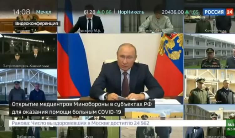 Kam zmizelo 22 miliard? Naštvaný Putin v televizi si podal gubernátory