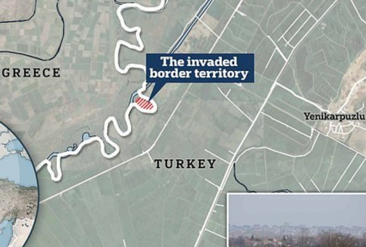 Co na to EU? Co na to NATO? Mlčí… Turečtí vojáci napadli a okupují část řeckého území a vyvěsili vlajku!