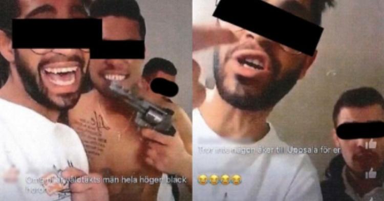 Afričtí migranti ve Švédsku znásilnili další dívku a příteli trvale poškodili mozek