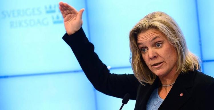 Švédská ministryně financí přiznala: Kvůli migrantům máme velké ekonomické problémy