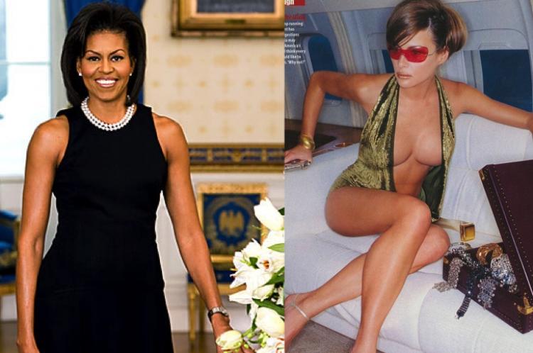 Pokud se Trump stane prezidentem USA bude první dámou tato žena vpravo