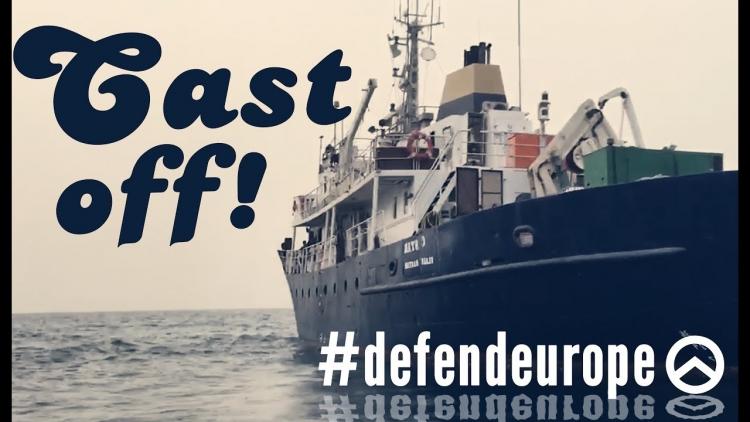 Pravicová skupina si koupila loď a chce napadat plavidla s uprchlíky. Pošleme je zpět do Afriky, vzkazuje
