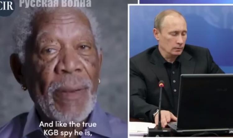 Ruská odpověď Morganovi Freemanovi, to zřejmě nečekal