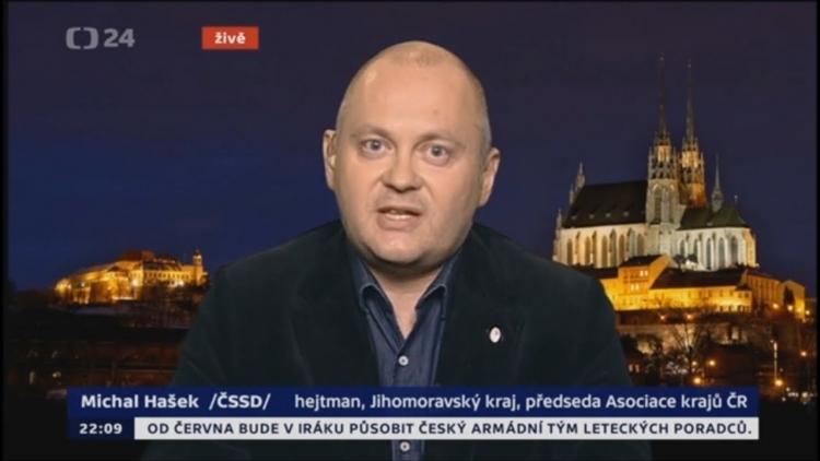 Je Česká televize v právu? Hašek s moderátorem na sebe křičeli, kdo měl pravdu?