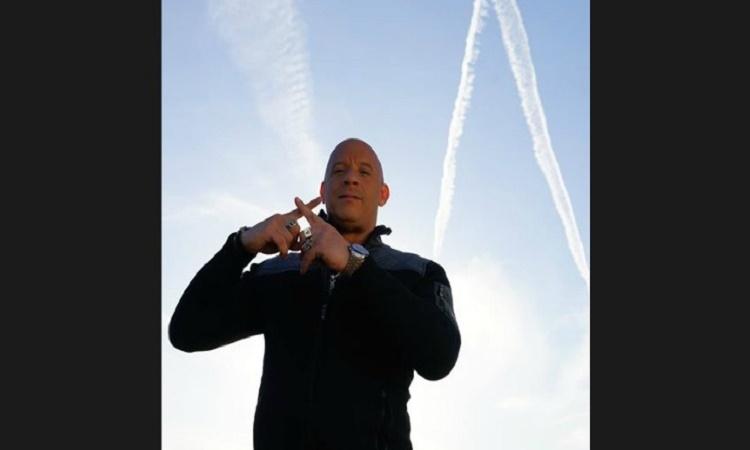 Varuje Vin Diesel před chemtrails?