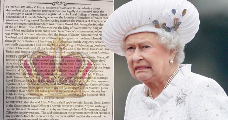 Odstup, královno! Američan tvrdí, že je právoplatným králem Velké Británie a dává lhůtu na rozloučenou