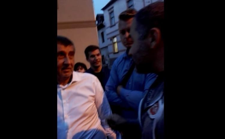 Občan potkal Babiše a důsledně mu vysvětlil situaci, co si o něm myslí...