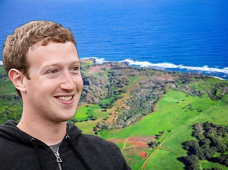 Zuckerberg žaluje stovky havajských rodin, aby je donutil prodat půdu