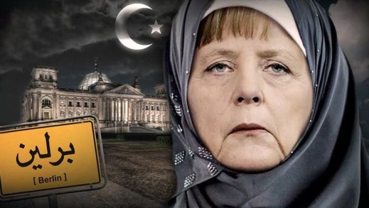Nebojte se islámu! Vyzvala Němce Angela Merkelová a má pro ně radu, jak to mají udělat! Smál se jí kvůli tomu plný sál!