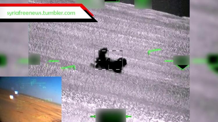 Unikátní záběry: Vichr smetl ze zemského povrchu tanky Islámského státu (VIDEO)