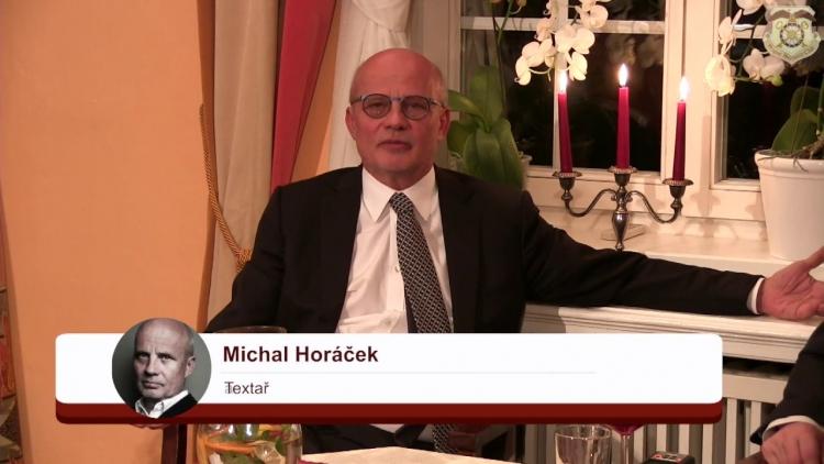 Za ty lži, virózy a za všechny darebnosti ti Zemane dáváme nedostatečnou, hřímal Michal Horáček