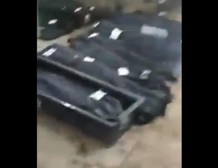 Márnice v Íránu je plná těl, má jít o oběti koronaviru, autor videa byl zatčen